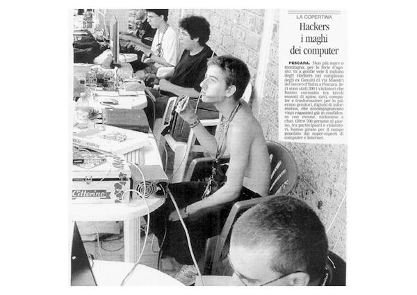 Rassegna Stampa - Metro Olografix - Hackers i maghi del computer - Il centro 22/08/2004