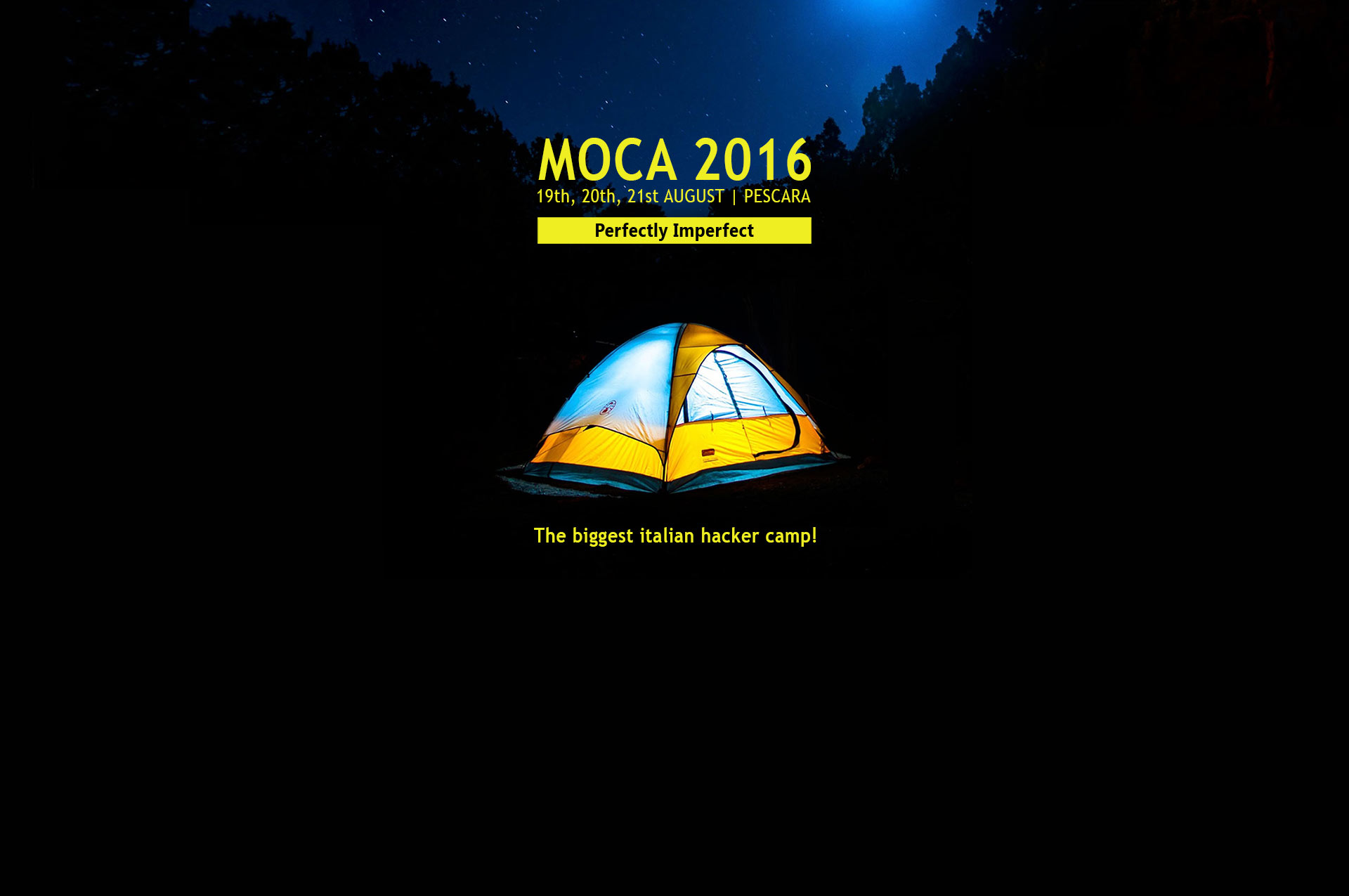 MOCA16-home Metro Olografix CAmp
