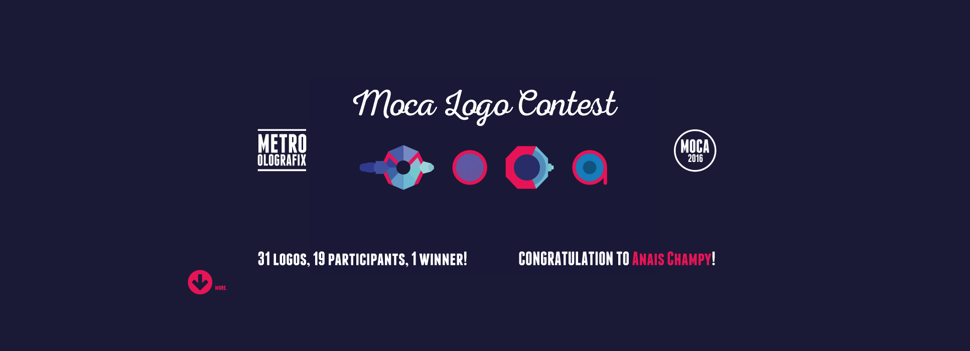 MOCA16 winner contest