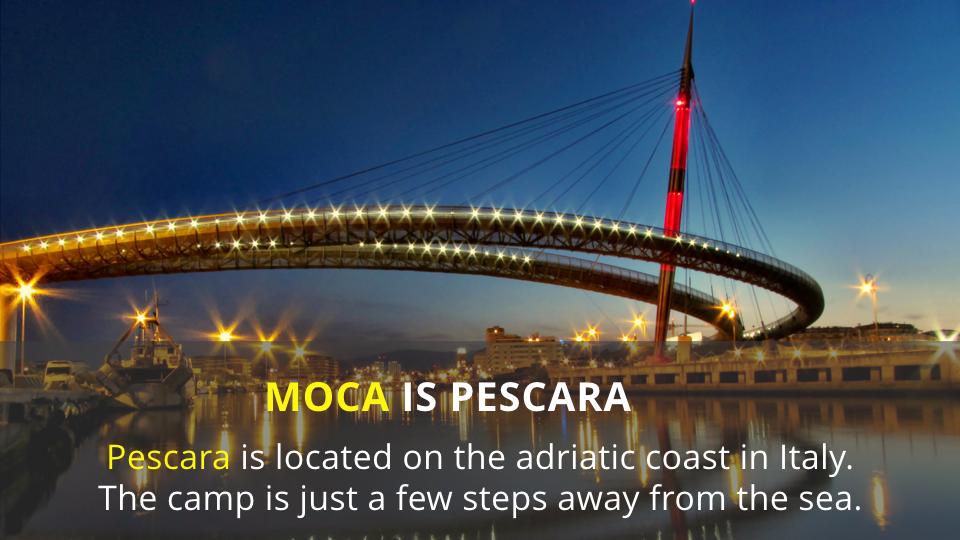 MOCA 2016 is pescara